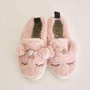 Zara baby unicorn shoes